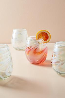 Slide View: 1: Jupiter Stemless Wine Glass Set