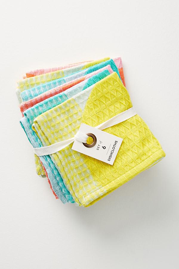 Cantina Dishcloths - Assorted, Size Set Of 6