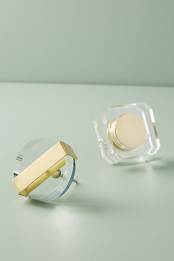 Knauf aus Acrylglas - Clear