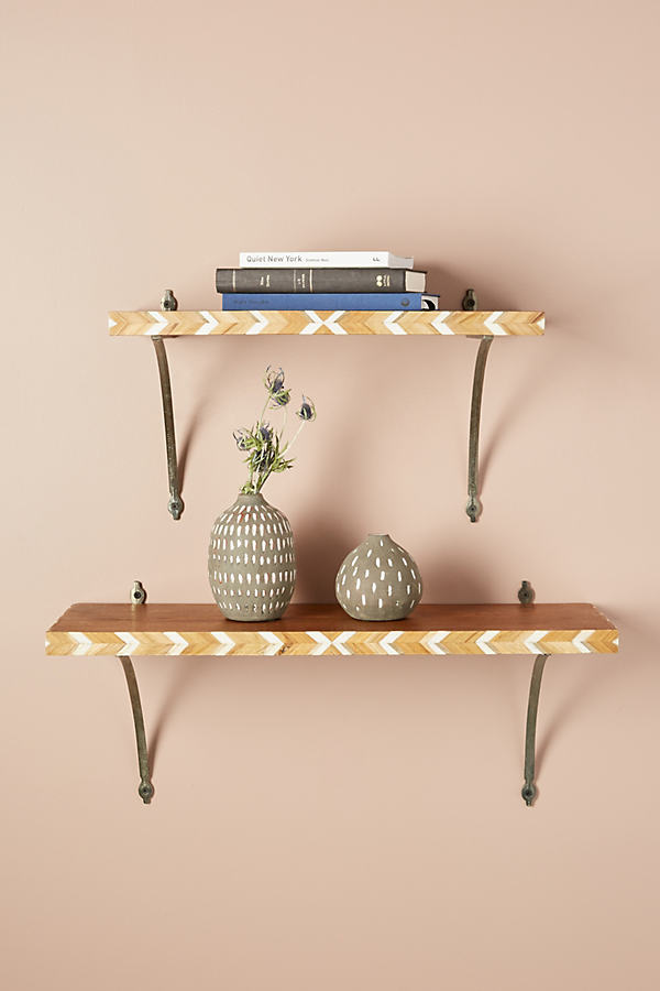 Marquetry Shelf - Assorted