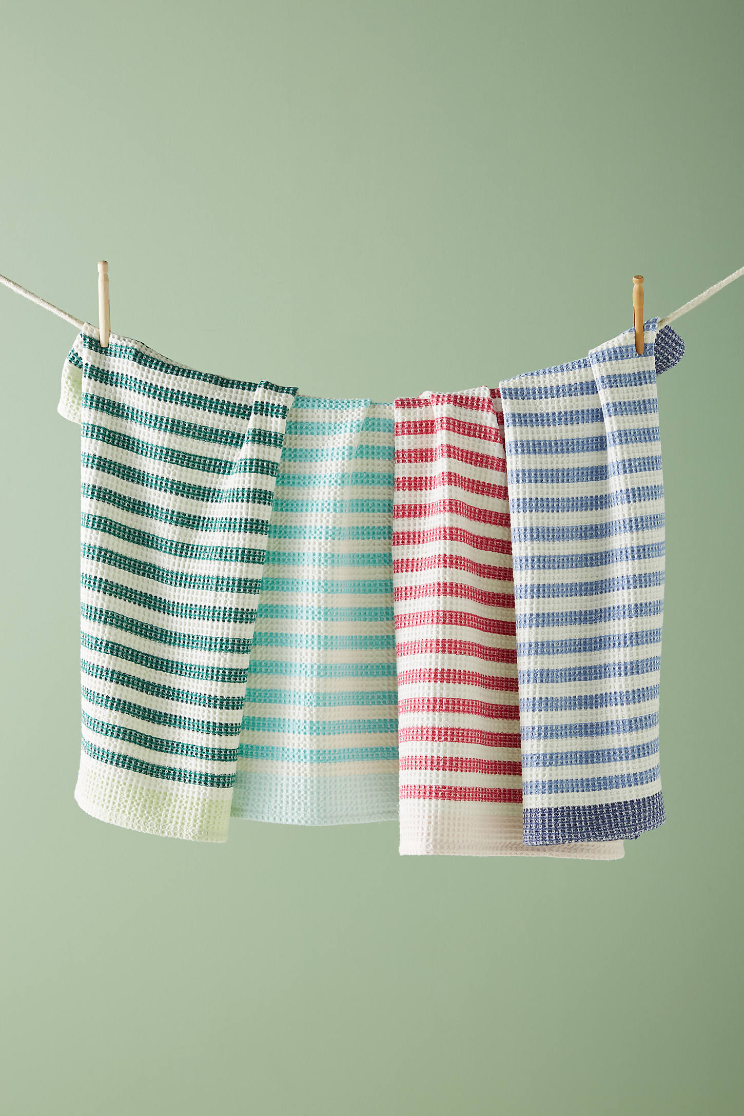 Cabana Striped Dish Towel Set