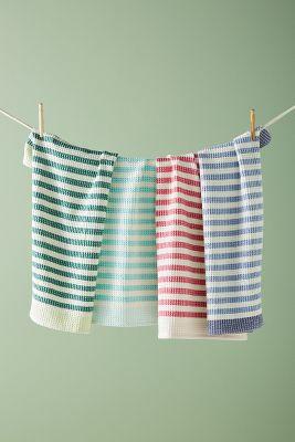 Cabana Striped Dish Towel Set