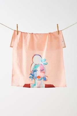 Belle D'isle Dish Towel by Leslie Weaver