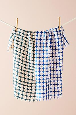 Slide View: 1: Leo Dish Towel Set