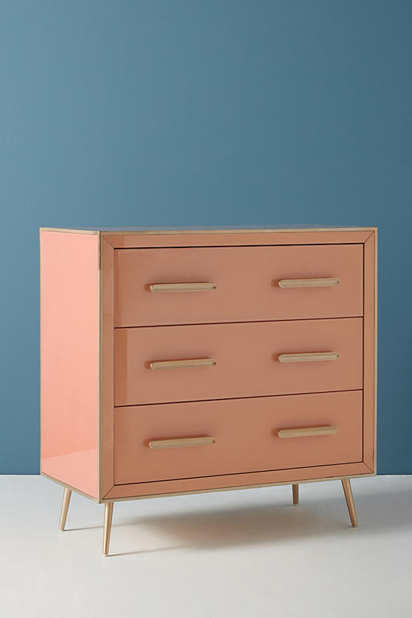 Slide View: 2: Petra Three Drawer Dresser