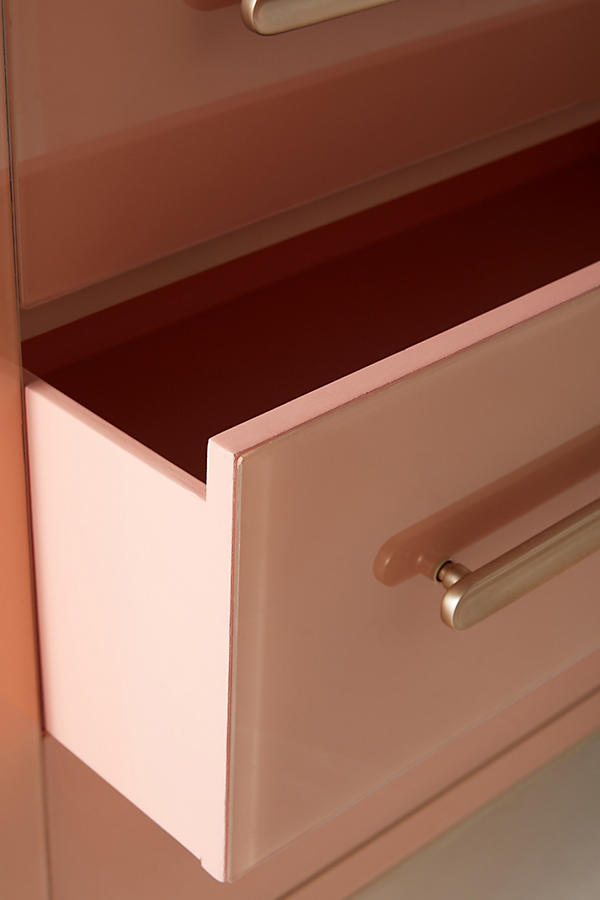 Slide View: 4: Petra Three Drawer Dresser