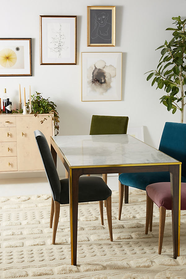 Silhouette Dining Table - White