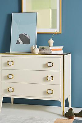 Slide View: 1: Silhouette Three-Drawer Dresser