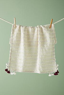 Slide View: 1: Tasseled Monique Dish Towel