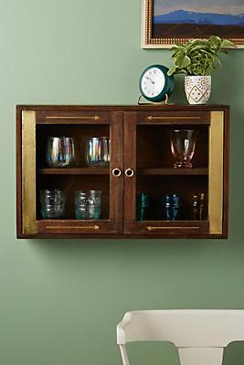 Slide View: 1: Brass Arrow Cabinet
