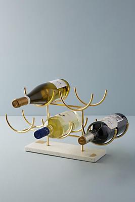 Slide View: 1: Terrazzo Wine Rack