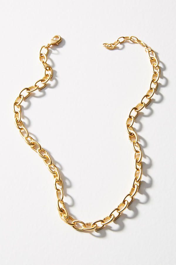 Slide View: 1: Charmed Link Necklace