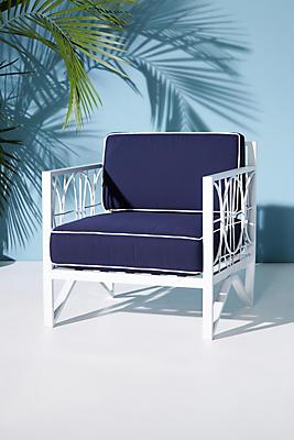 Slide View: 5: Poolside Indoor/Outdoor Chair