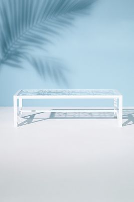 Poolside Indoor/Outdoor Coffee Table by Tracey Boyd