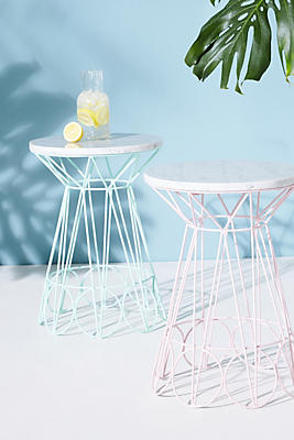 Slide View: 4: Ancer Indoor/Outdoor Side Table