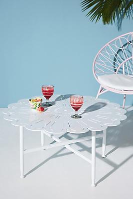 Slide View: 1: Rosette Indoor/Outdoor Coffee Table