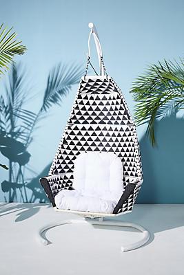 Slide View: 1: Tahiti Indoor/Outdoor Hanging Chair