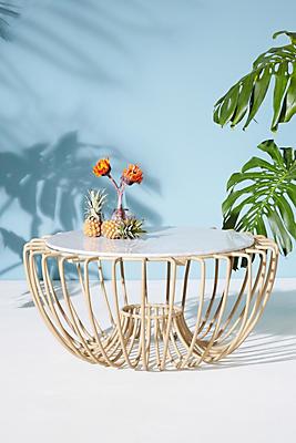 Slide View: 1: Wavelength Indoor/Outdoor Coffee Table