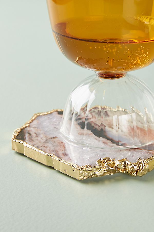 Zebra Stone Coaster | Anthropologie