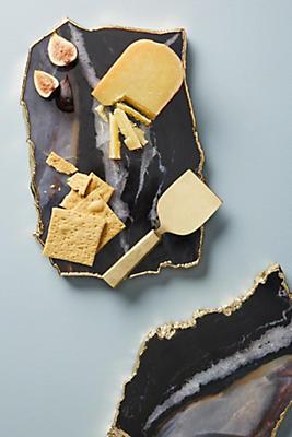 Slide View: 1: Zebra Stone Cheese Board
