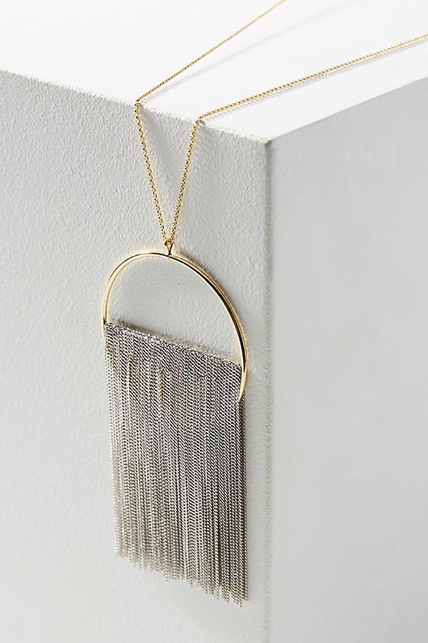 Moonrise Pendant Necklace - Gold