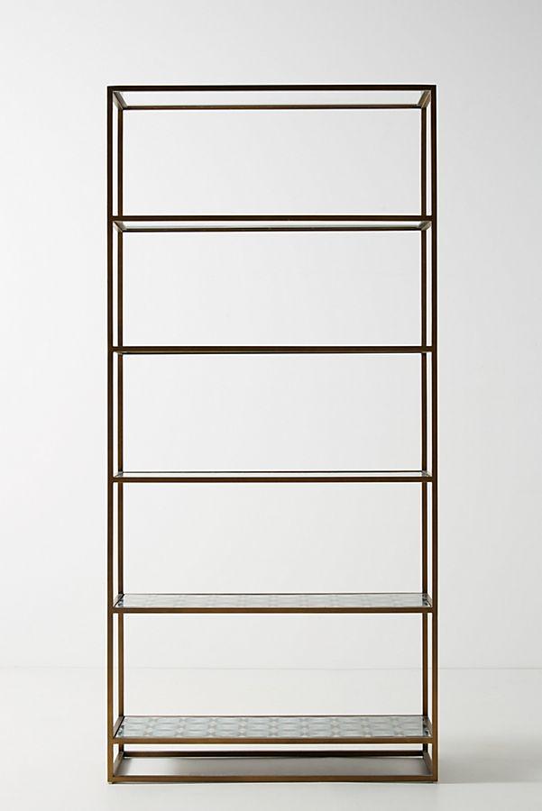 Art Deco Etagere Bookcase | Anthropologie