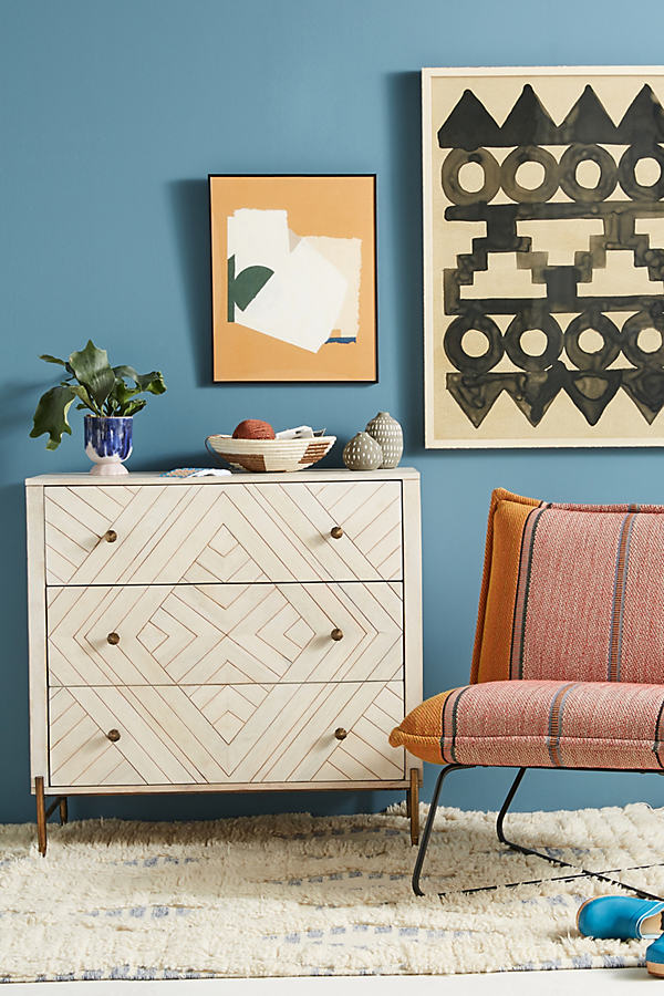 Embury Three-Drawer Dresser - Sand