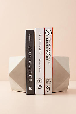Slide View: 1: Cement Geo Bookends