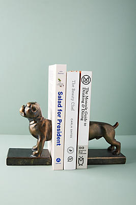 Slide View: 1: Canine Bookends
