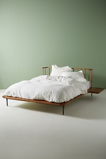 Bohemian Bed Frames & Unique Headboards | Anthropologie on Modern Boho Bed Frame  id=85663