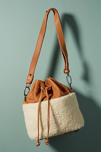 Mississippi Shearling Bucket Bag