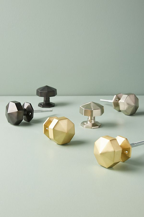 Faceted Door Knob | Anthropologie