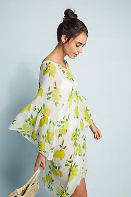 Slide View: 1: Lemon Squeeze Caftan