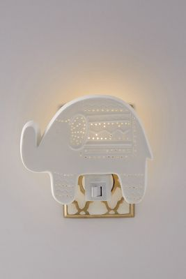 Elephant Nightlight by Anthropologie