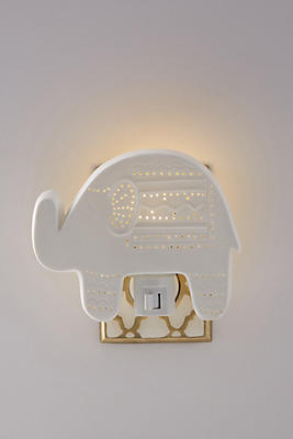 Slide View: 1: Elephant Nightlight