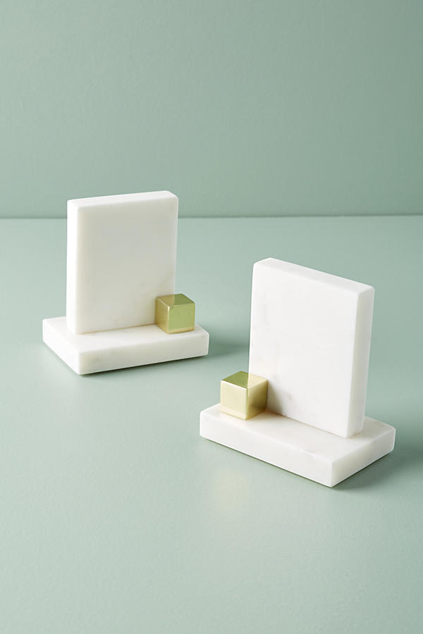 Slide View: 2: Marble Bookends
