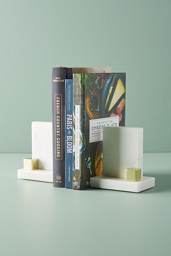 Slide View: 1: Marble Bookends