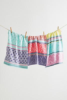 Slide View: 1: Bodrum Dish Towel Set