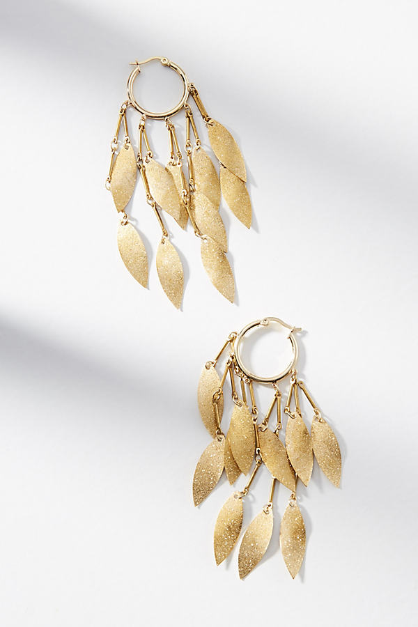 Willow Hoop Earrings - Gold