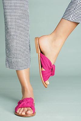 Knotted Slide Sandal Soludos