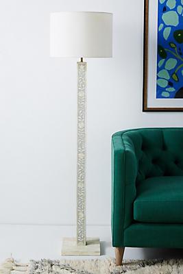 Slide View: 1: Margary Inlay Floor Lamp