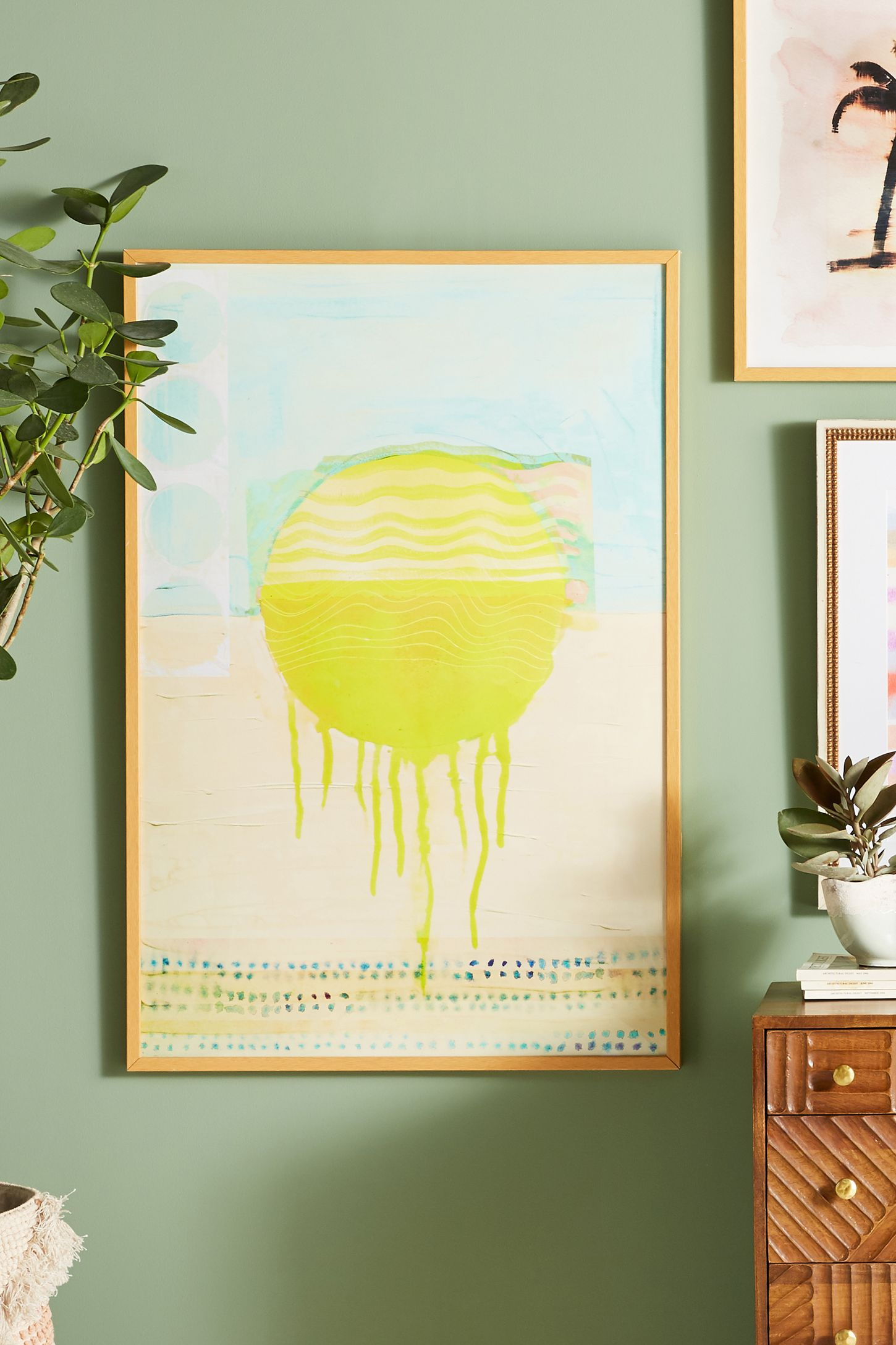 Yellow Wall Art Yellow  Wall Art Wall Mirrors & Wall Décor  Anthropologie