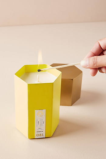 Candlefish Hexagonal Candle