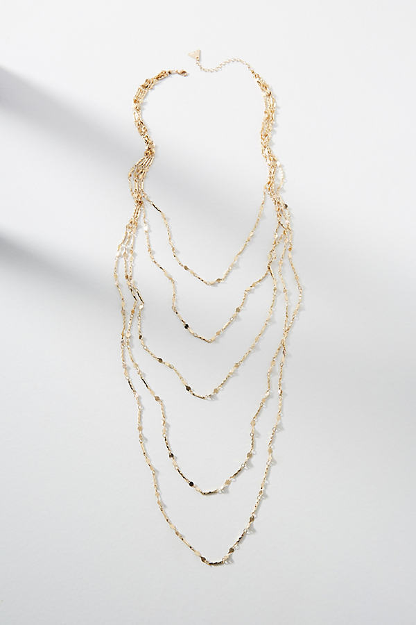 Aleisha Layered Necklace - Gold