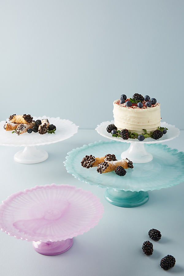 Alma Cake Stand - White, Size Stand