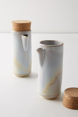 Mixto Oil & Vinegar Cruets, Set Of 2 by Anthropologie