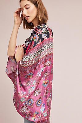 Slide View: 2: Winnie Silk Kimono