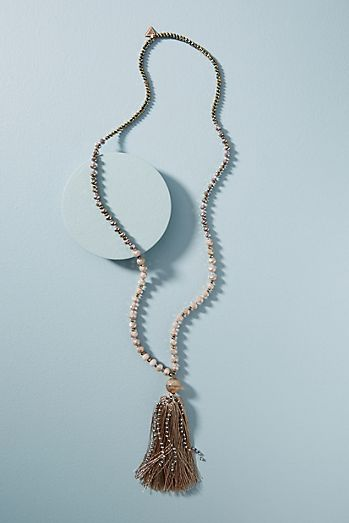 Long necklaces layered necklaces anthropologie moonstone pendant necklace aloadofball Image collections