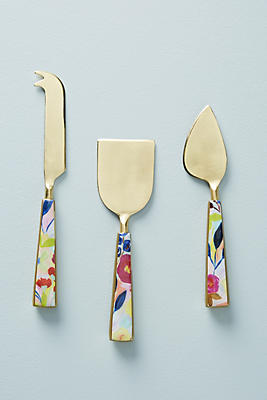Slide View: 1: Sola Cheese Knife Set