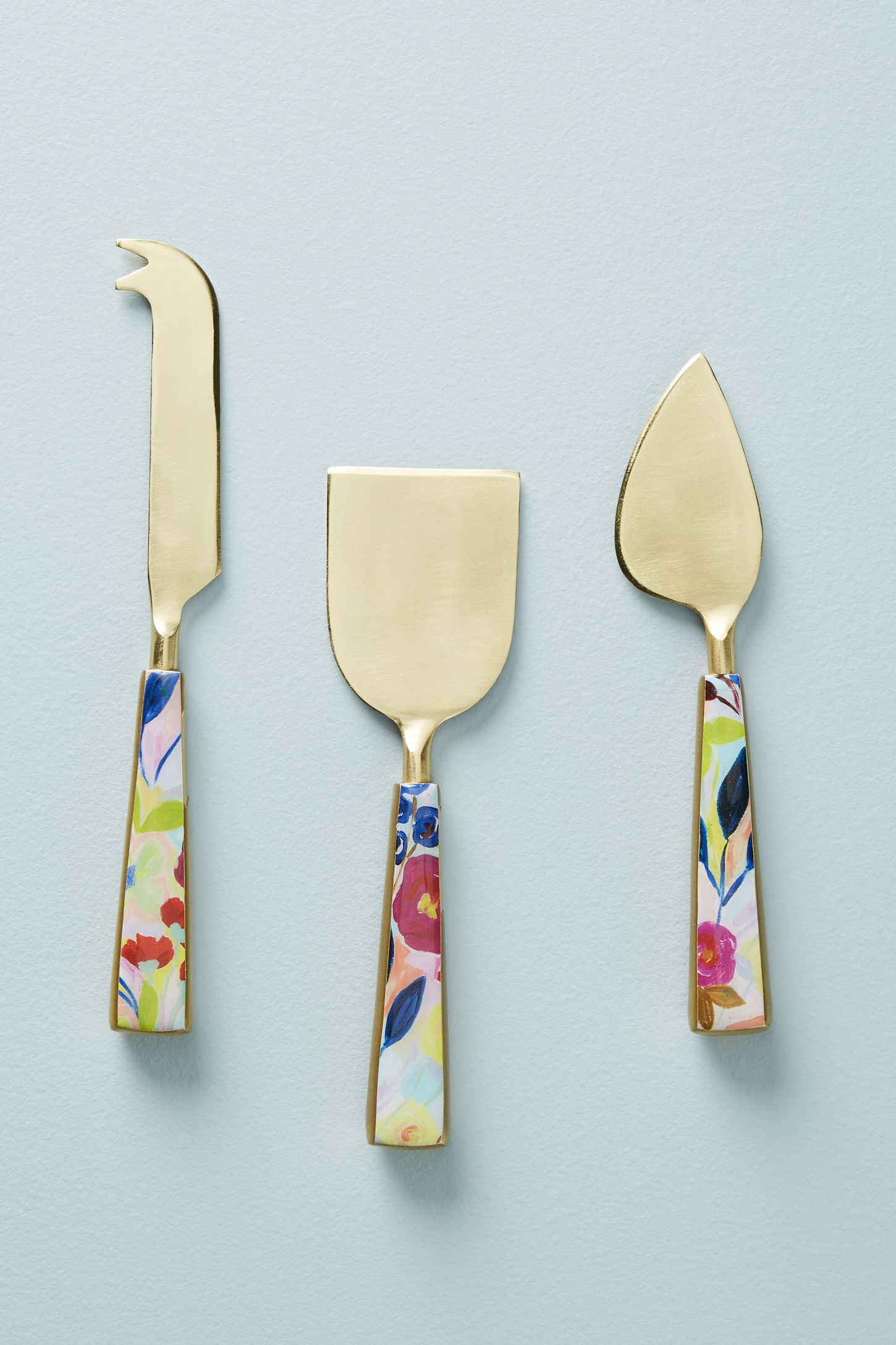 Sola Cheese Knives, Set of 3 | Anthropologie